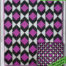 SRQ Diamond Daze Quilt Pattern Cover Front