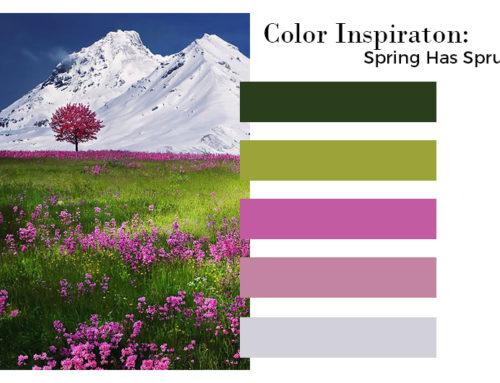 Color Inspiration: Spring Has Sprung