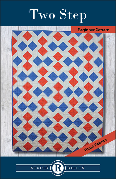 SRQ Two Step Quilt Pattern Cover Front