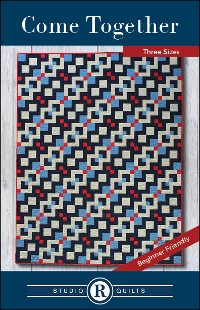 SRQ Come Together Quilt Pattern Cover Front