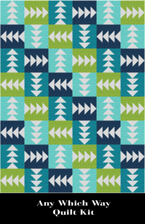 Any Which Way Quilt Kit