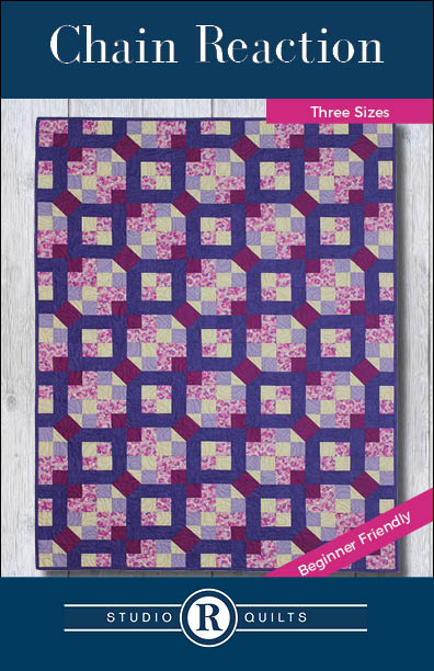 Chain Reaction Quilt Pattern Front Cover