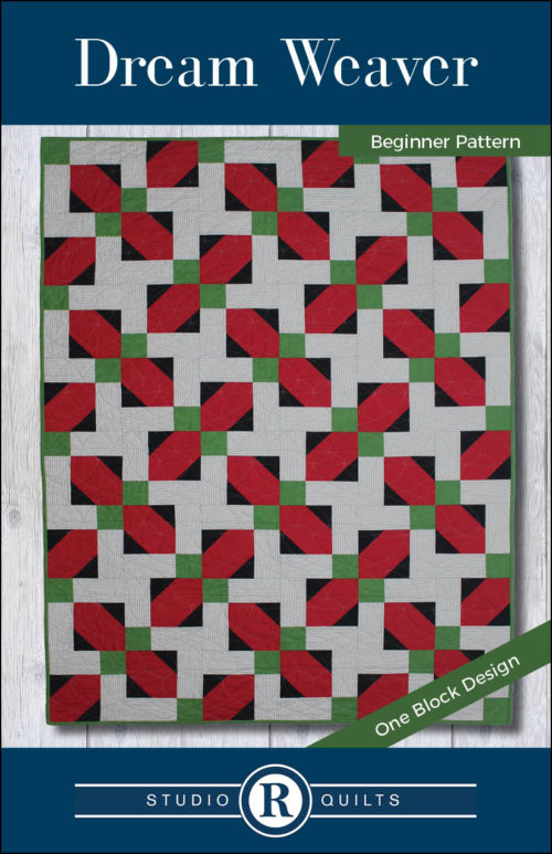 Dream Weaver Quilt Pattern Front Cover