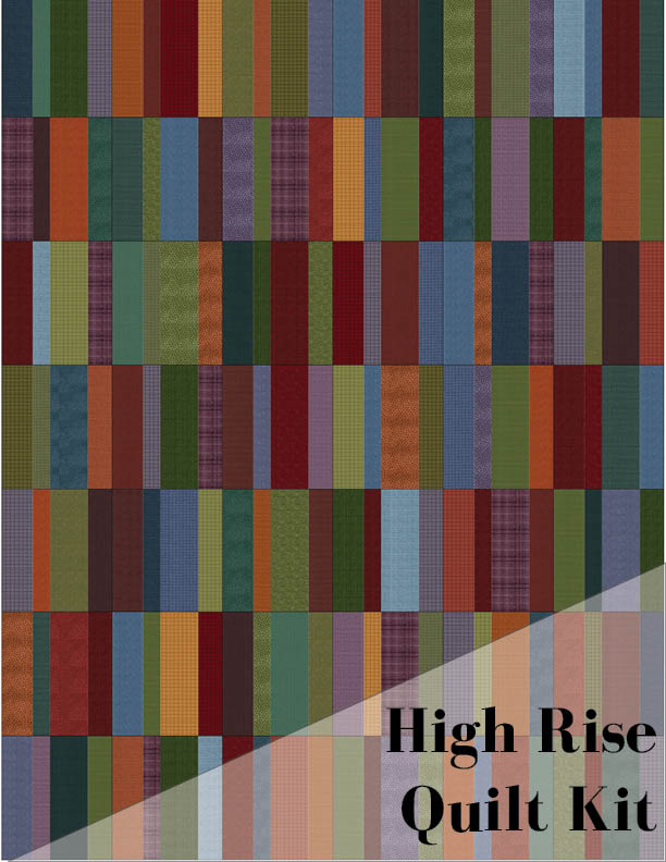 High Rise Quilt Kit: Woolies Flannel