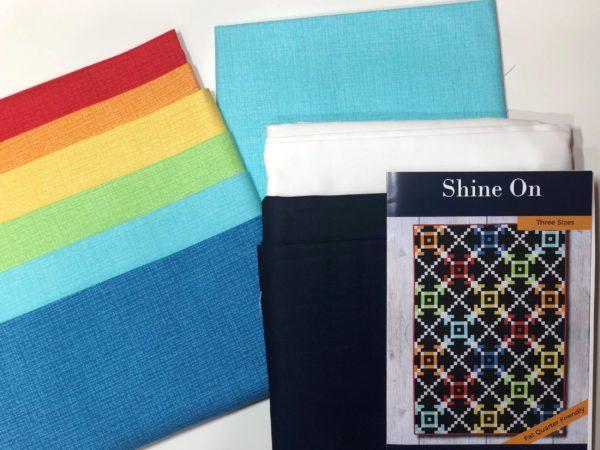 Shine On Quilt Kit Components