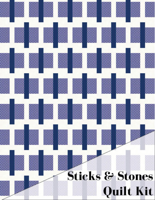Sticks & Stones Quilt Kit