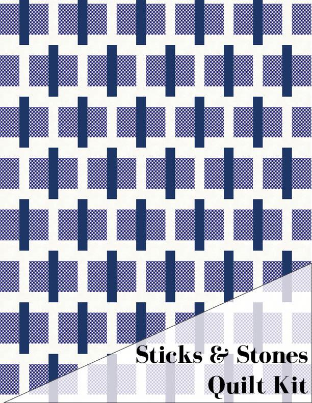 Sticks & Stones Quilt Kit