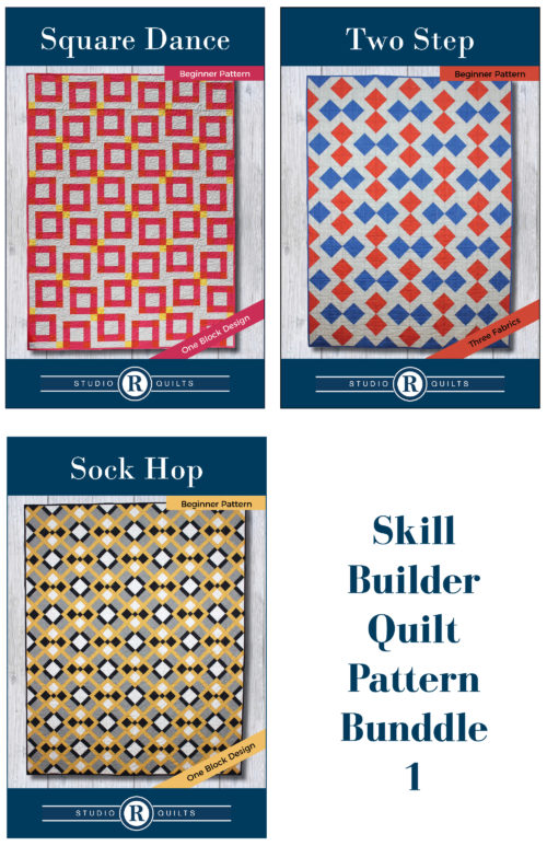 Skill Builder Quilt Pattern Bundle 1