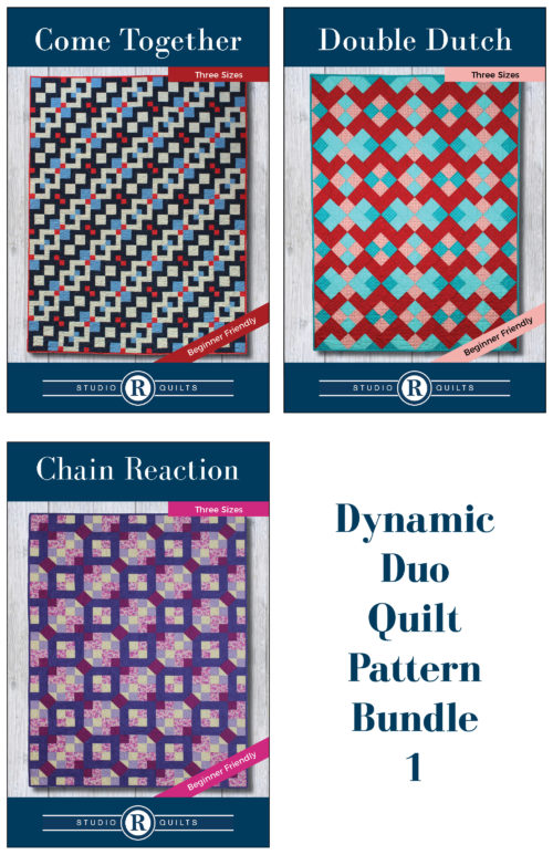 Dynamic Duo Quilt Pattern Bundle 1