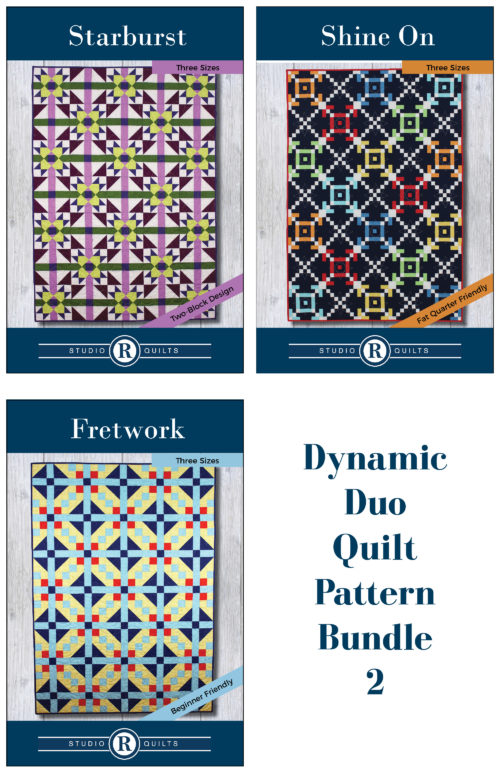 Dynamic Duo Quilt Pattern Bundle 2