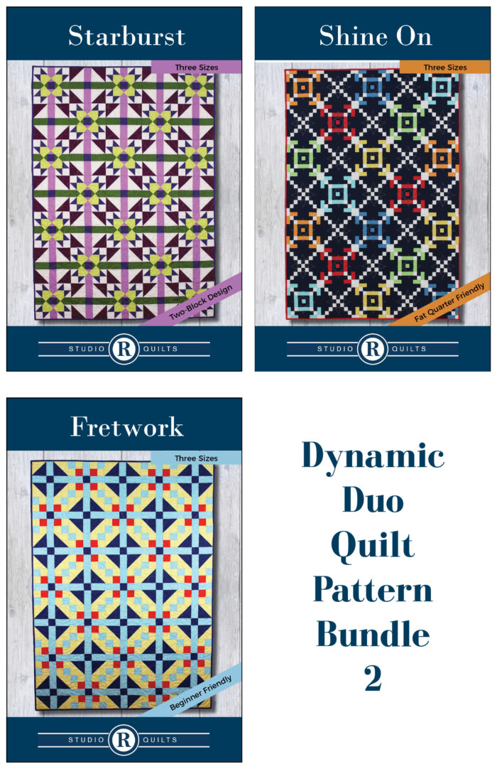 Dynamic Duo Quilt Pattern Bundle 2