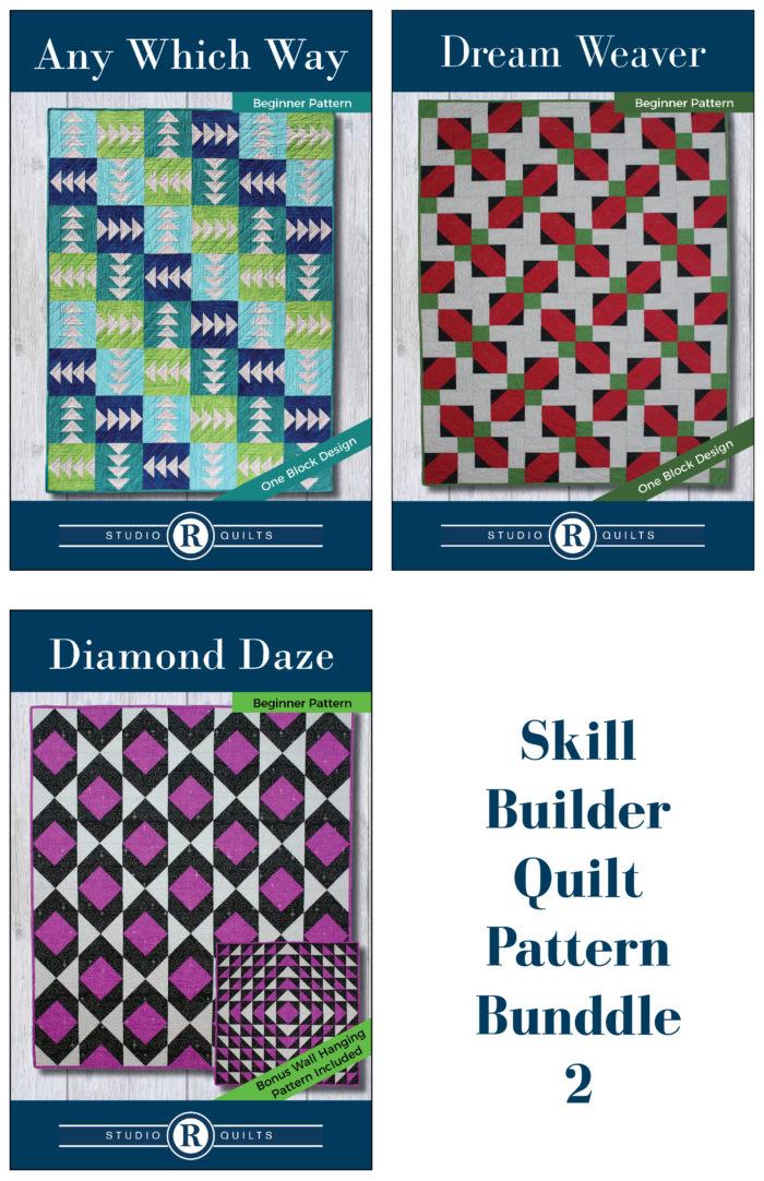 Skill Builder Quilt Pattern Bundle 2