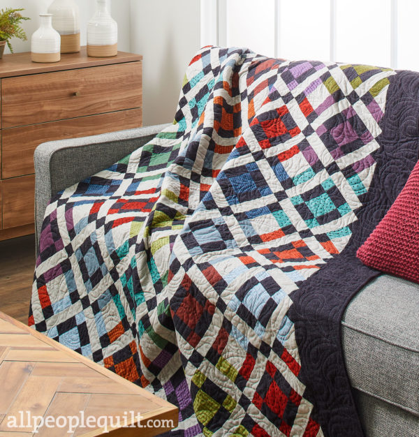 Warm Woolies Quilt, Styled
