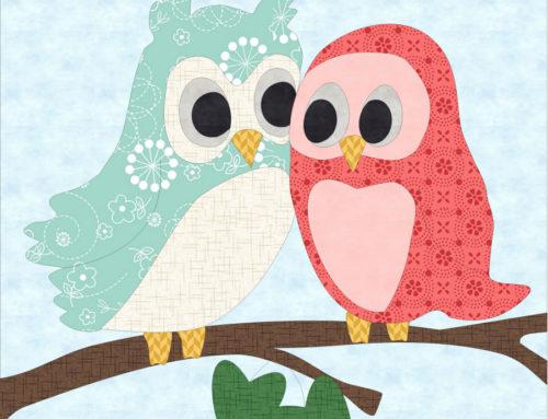 Love Owl-Ways Quilt Block Mania