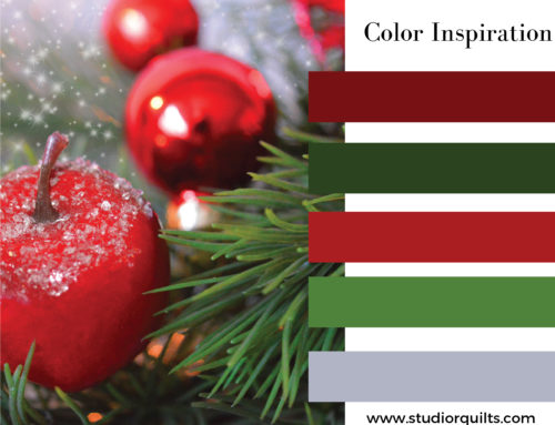 A Complementary Color Combination: Red and Green