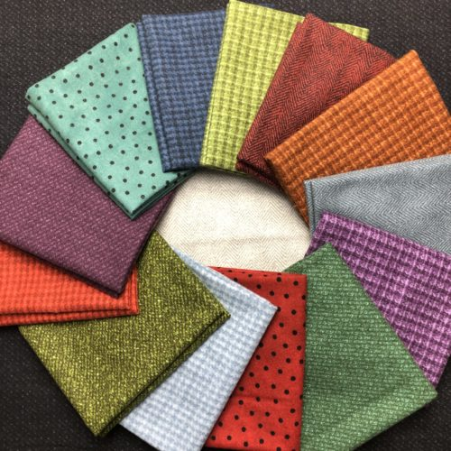 Warm Woolies Quilt Kit Components