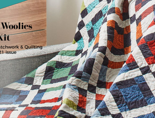 Warm Woolies Quilt Kit Now Available