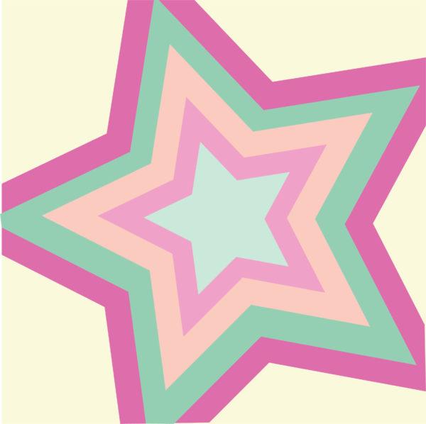 Star Bright Block Drawing