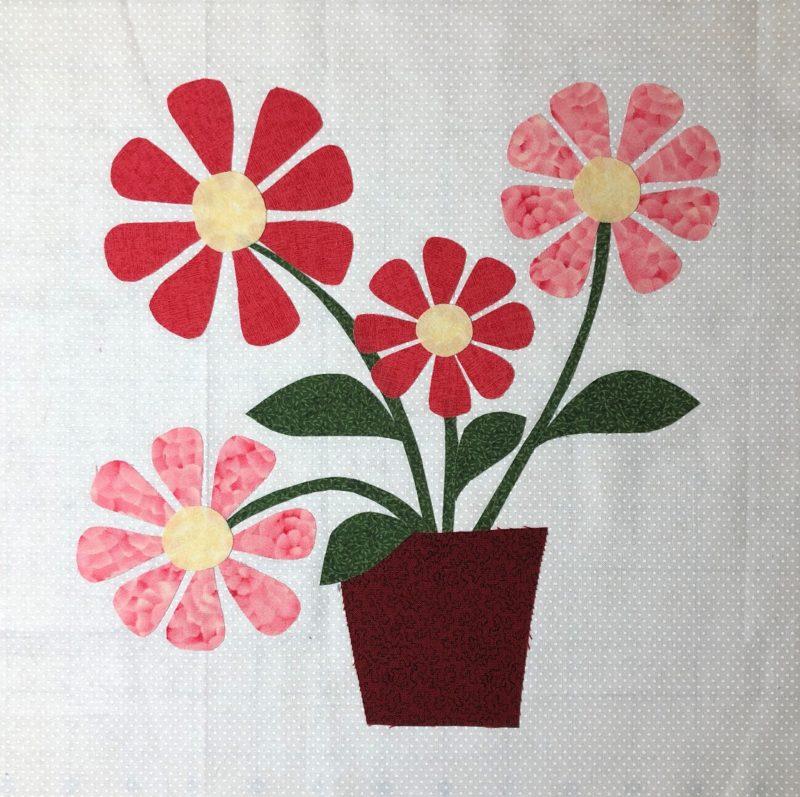 Studio R Quilts Wildflowers Quilt Block