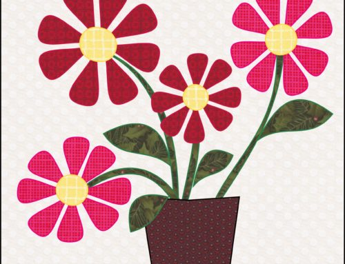 Wildflowers: Free Quilt Block Mania Pattern