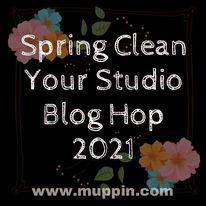 Spring Clean Your Studio Blog Hop 2021 Logo