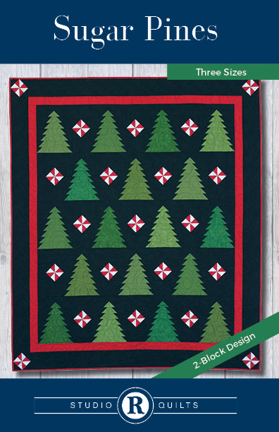 SRQ Sugar Pines Quilt Pattern Cover Front