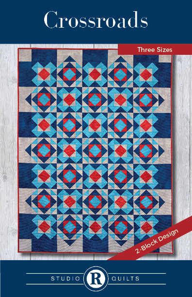 SRQ Crossroads Quilt Pattern Front Cover