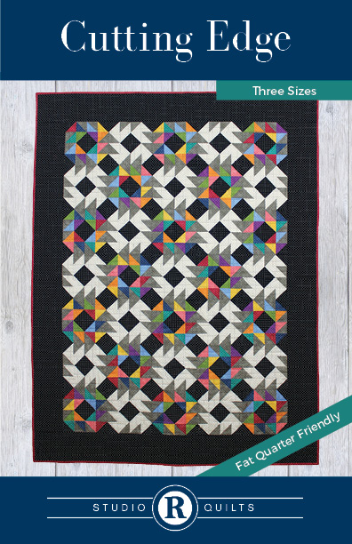 SRQ Cutting Edge Quilt Pattern Front Cover